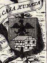 Vincenzo Coronelli (1650 - 1718). Territorio della Città di Forlì, particolare. Raccolta privata.