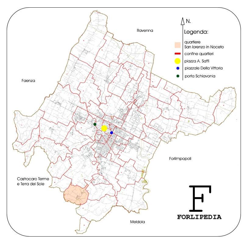 quartiere San Lorenzo in Noceto