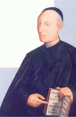Padre Andrea Michelini. Immagine tratta dall'invito alla celebrazione del bicentenario della morte. 13/02/2014