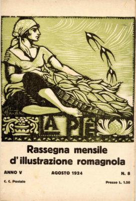 Copertina di Umberto Zimelli. 1924.