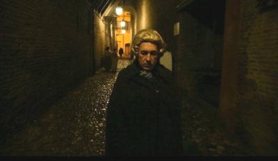 Riccardo Mei nel ruolo di Giovan Battista Morgagni.