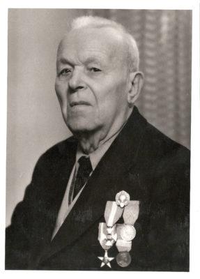 Luigi Zoli, decorato con la medaglia d'argento al valore militare.
