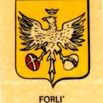 Stemma del Comune di Forlì. Collezione privata.