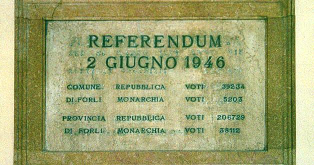 DUE GIUGNO 1946: REPUBBLICA