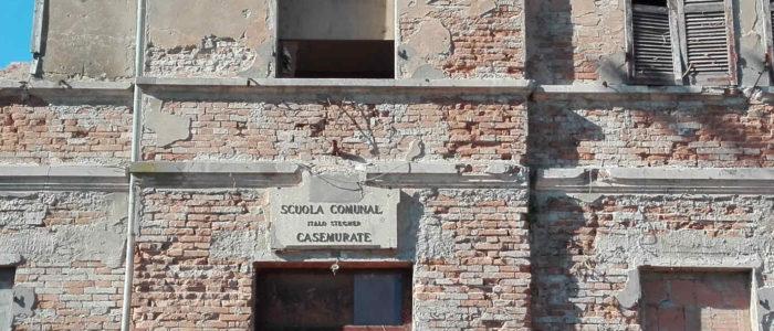 LA SCUOLA ELEMENTARE DI CASEMURATE (DEMOLITA)