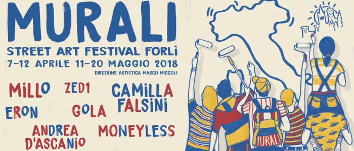 STREET ART FESTIVAL FORLI' 2018, MURALI PER LA COSTITUZIONE
