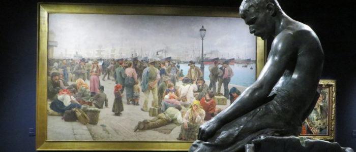 OTTOCENTO, L'ARTE DELL'ITALIA TRA HAYEZ E SEGANTINI (MOSTRA)