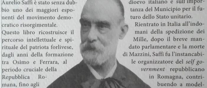 """AURELIO SAFFI L'ULTIMO """"VESCOVO"""" DI MAZZINI (LIBRO)"""