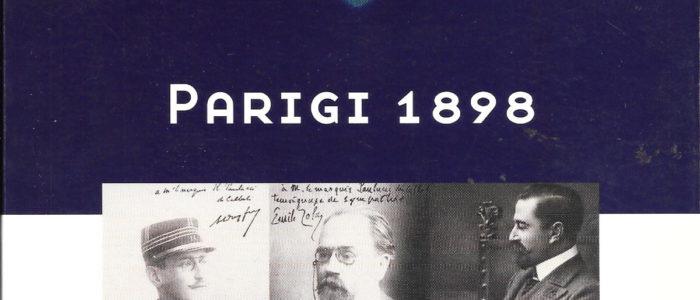 PARIGI 1898, CON ZOLA PER DREYFUS, DIARIO DI UN DIPLOMATICO (LIBRO)