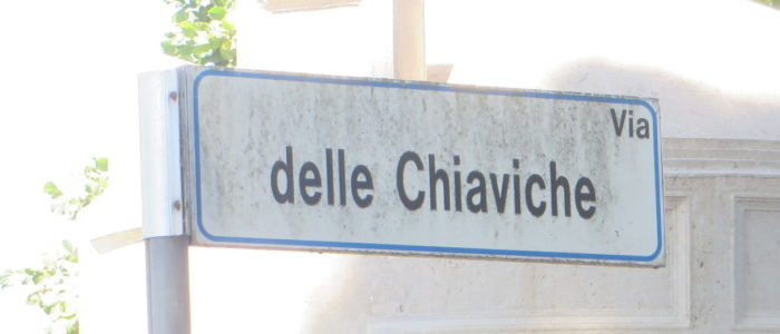CHIAVICHE (VIA DELLE)